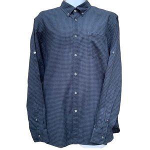 John Varvatos USA Long Sleeve Plaid Casual Shirt